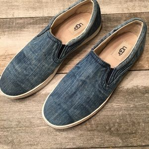 {Ugg} Denim slip on shoes